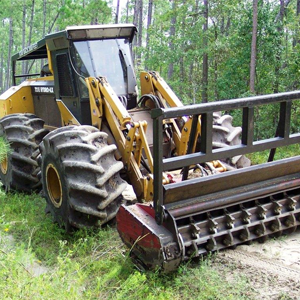 Forestry Hydro Ax Mulching Underbrush Removal Services